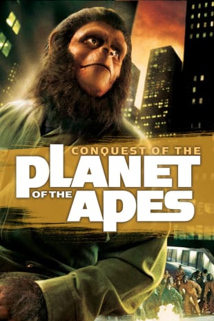 movie poster for Conquest Of The Planet Of The Apes