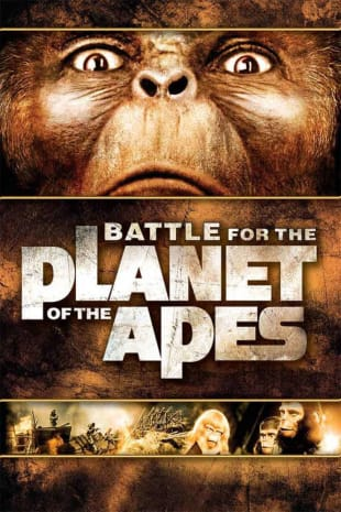 movie poster for Battle For The Planet Of The Apes