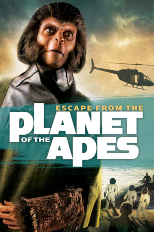 movie poster for Escape from the Planet of the Apes