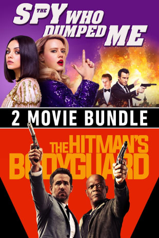 movie poster for The Spy Who Dumped Me / The Hitman's Bodyguard Double Feature