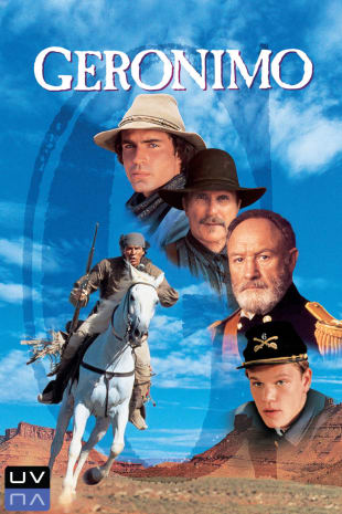 movie poster for Geronimo: An American Legend