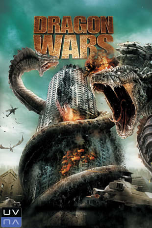 movie poster for Dragon Wars
