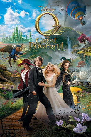 movie poster for Oz The Great and Powerful