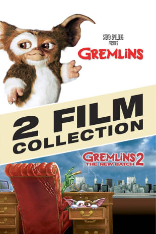 movie poster for Gremlins 1 & 2 Collection