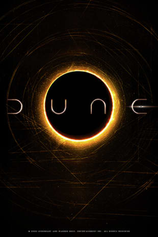 movie poster for Dune