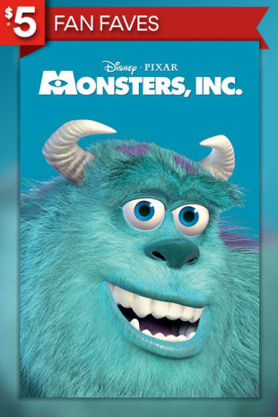 movie poster for Monsters, Inc.