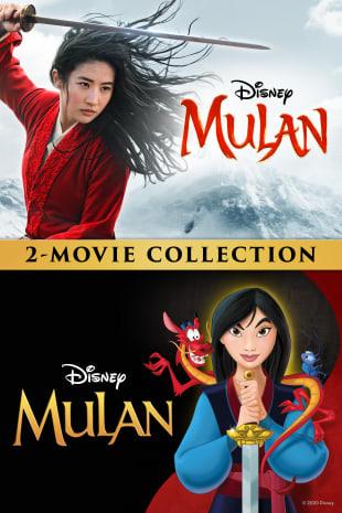 movie poster for Mulan (2020) / Mulan (1998) Bundle