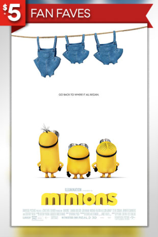 movie poster for Minions