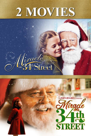movie poster for Miracle on 34th Street 2-Movie Collection