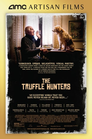 movie poster for The Truffle Hunters