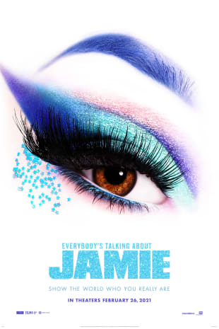 movie poster for Everybody's Talking About Jamie