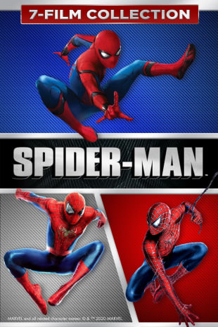 movie poster for Spider-Man 7-Film Collection
