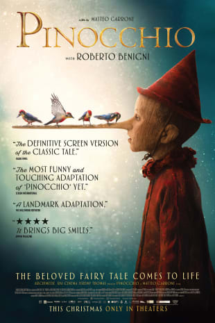 movie poster for Pinocchio