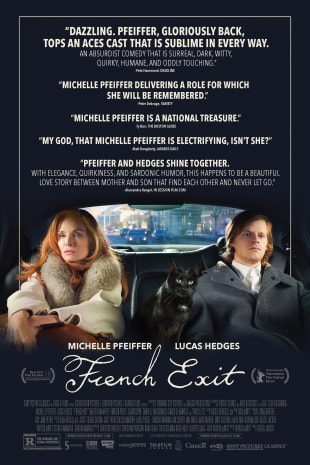 movie poster for French Exit