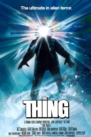 movie poster for The Thing (1982)