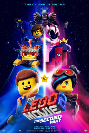 movie poster for The Lego Movie 2: The Second Part