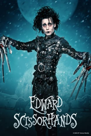 movie poster for Edward Scissorhands