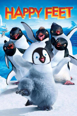 movie poster for Happy Feet
