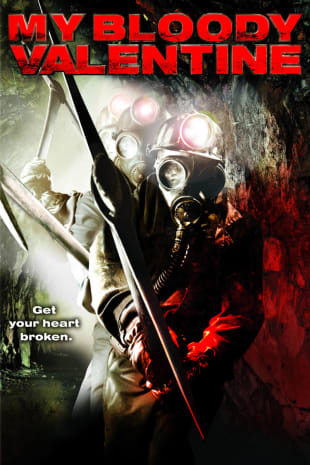 movie poster for My Bloody Valentine 3-D