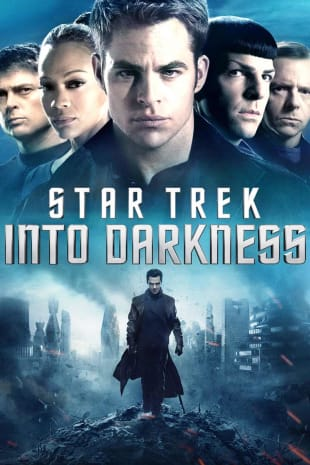 movie poster for Star Trek Into Darkness