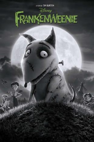 movie poster for Frankenweenie