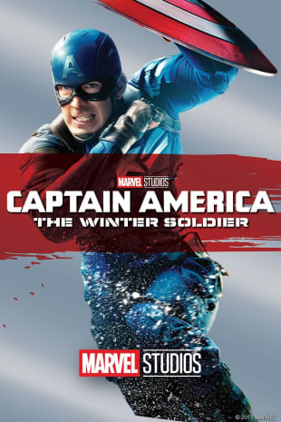 movie poster for Captain America The Winter Soldier