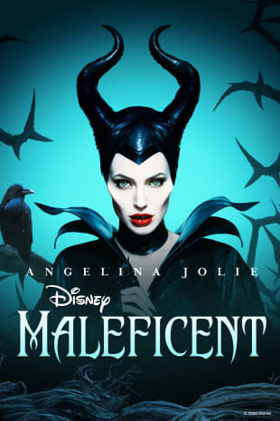 movie poster for Maleficent