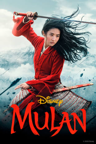 movie poster for Mulan