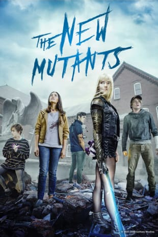 movie poster for The New Mutants
