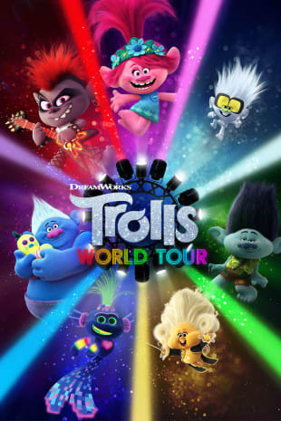 movie poster for Trolls World Tour