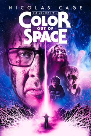 movie poster for Color Out Of Space