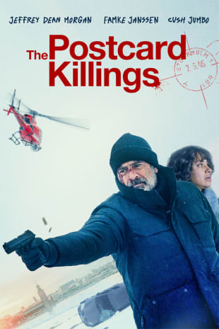 movie poster for The Postcard Killings