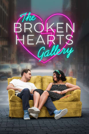 movie poster for The Broken Hearts Gallery