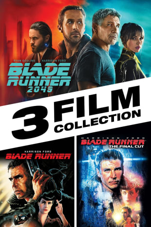 movie poster for Blade Runner 3-Film Collection