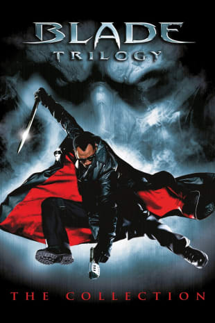 movie poster for Blade Trilogy Collection