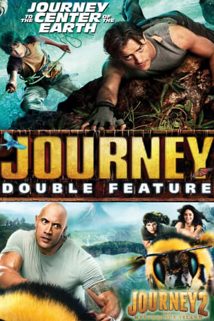 movie poster for Journey 2: The Mysterious Island/Journey to the Center of the Earth