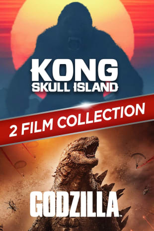 movie poster for Kong: Skull Island/Godzilla