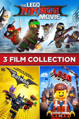 movie poster for The LEGO Ninjago Movie /The LEGO Batman Movie/The LEGO Movie 3-Film Collection