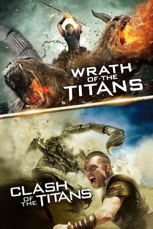 movie poster for Wrath of the Titans/Clash of the Titans Bundle