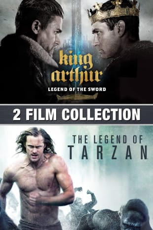 movie poster for King Arthur & Legend Of Tarzan 2-Film Collection