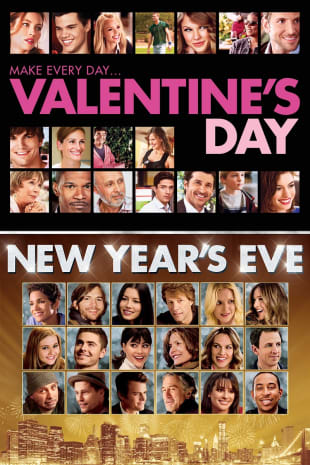 movie poster for New Year's Eve / Valentine's Day Bundle