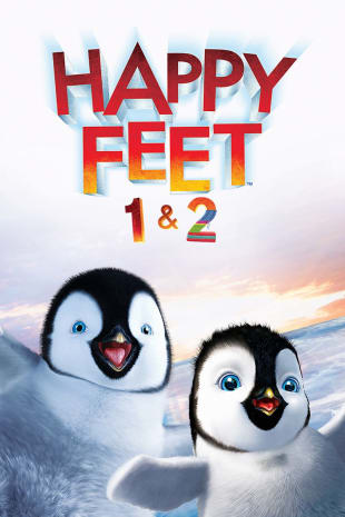 movie poster for Happy Feet/Happy Feet Two Double Feature