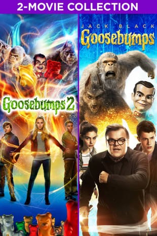 movie poster for Goosebumps 2-Movie Collection