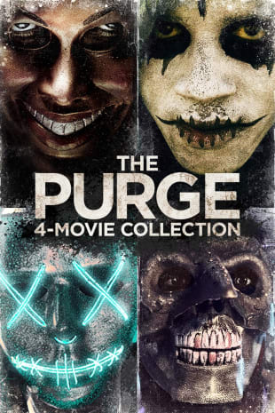 movie poster for The Purge 4-Movie Collection