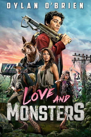 movie poster for Love And Monsters