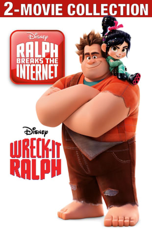 movie poster for Ralph Breaks The Internet / Wreck-It Ralph Bundle