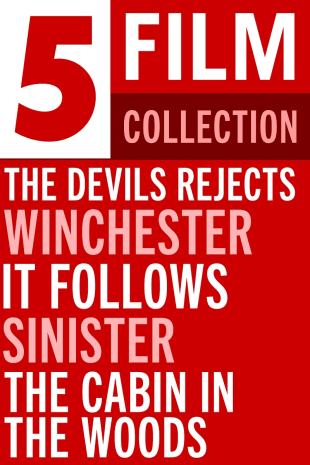movie poster for 5-Film Horror Collection