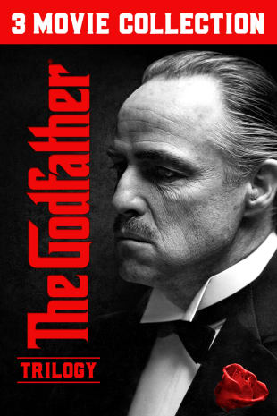 movie poster for The Godfather Trilogy