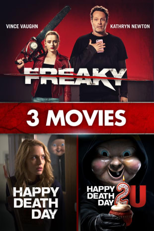 movie poster for Freaky, Happy Death Day, Happy Death Day 2U: 3-Movie Collection
