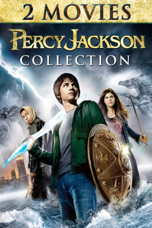 movie poster for Percy Jackson 2-movie Collection